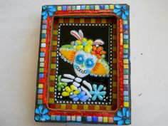 fused glass and mosaic
