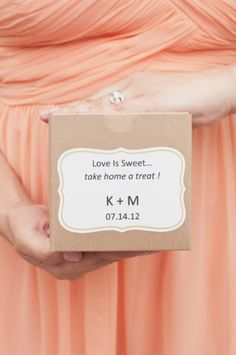 Don't assume your guests will know what to do.  Consider using a simple sign at each table, telling guests that yes, those treats on that table over there are for you!  Sometimes people are hesitant to jump right in.