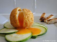 Le tablier gourmet: L'oeuf mollet frit pour sublimer vos salades estiv...