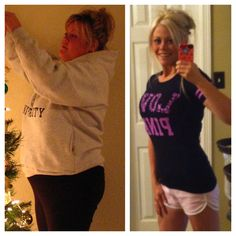 Her blog is SOO inspirational. This pin leads to the page with her whole weight loss story.