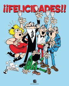 Tal día como hoy, un 20 de enero de 1958, se publicó la primera historieta de Mortadelo y Filemón en el número 1394 de Pulgarcito.
