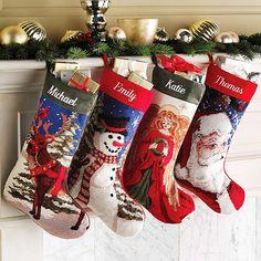 Personalized Needlepoint Christmas Stocking - Walmart.com ...