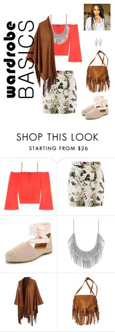 """""""It finally feels like spring"""" by ivysierra24 ❤ liked on Polyvore featuring Bebe, Gucci, Lucky Brand, LE3NO, American Eagle Outfitters and Wendy Nichol"""
