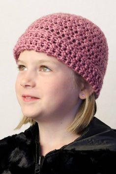 Going out of business crochet Girls Pink by OzarkLakeCrochet, $9.00