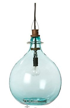 pendant light - way over my budget for this one but like the idea.