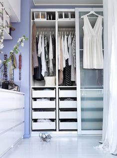 [Déco] Des idées pour aménager un dressing dans une chambre