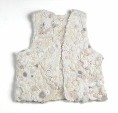 Freeform Crochet vest by Bonnie Pierce.  2004 Crochet Needleworker of the year, Interweave Press