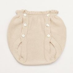 Knitted Bloomer – Beige