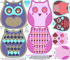 owl template - Cerca amb Google