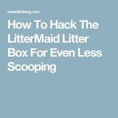 How To Hack The LitterMaid Litter Box For Even Less Scooping  sc 1 st  Pinterest & $14.99-$39.99 LitterMaid Kitty Kabana Universal Litter Box Privacy ...