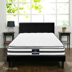Hr-sports have large range of Mattress in king mattress, single mattress, double mattress, queen mattress sizes. Buy now pay later with afterpay. King Size Pillows, King Size Mattress, Pillow Top Mattress, Queen Mattress, Foam Mattress, King Single Bed, King Size Bed Frame, Bed Sizes, King Beds