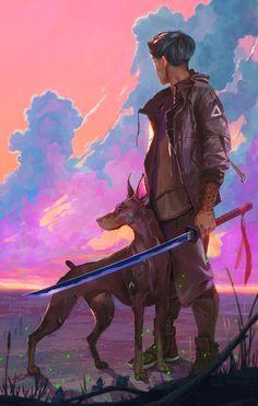 The amazing digital art of Chin Fong Art And Illustration, Illustrations, Character Inspiration, Character Art, 1440x2560 Wallpaper, Cyberpunk Kunst, Wow Art, Kawaii, Best Artist