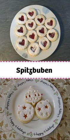 Spitzbuben - für ca. 55 Weihnachtsguetzli. Cereal, Breakfast, Holiday, Food, Gelee, Oven, Food Portions, Cooking, Eten