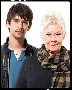 Judi Dench and Ben Whishaw in Peter and Alice. This is the one show I felt I MUST see while I'm over here