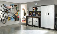There will be no hunting for tools in this man cave. Give your garage the best of everything.