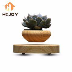 Japan Magnetic Levitation Air Floating Bonsai Plant Pot