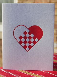 Mix & Match Letterpress Printed Greeting Cards 3 for Ten (10) dollars. $10.00, via Etsy.