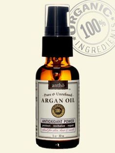 Pure Organic Argan Oil: 100% USDA certified organic oil - the highest organic content. Rejuvenating, anti aging & line smoothing. Versatile - moisturize, soothe, massage, shave, condition. Ideal for all skin types. Perfect for face, hands, body, hair and nails. Stylish dark apothecary glass protects the product from sun damage. Goes perfectly under makeup or to smooth frizzy hair!
