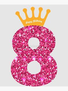 Queens Crow Happy Birthday for Girls' Poster by melsens Kids Birthday Morning, Happy Birthday Girls, Kylie Birthday, Happy Birthday Posters, Barbie Birthday, Man Birthday, Girl Birthday, Birthday Wishes, Birthday Cards