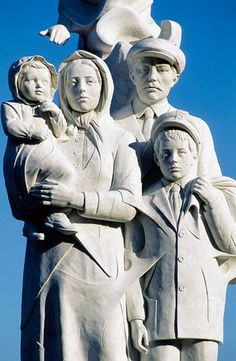 Monument to the Immigrants, New Orleans, Louisiana, USA