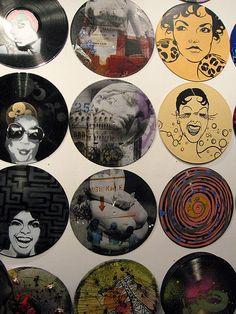 Vinyl Record Art | Vinyl record Art | Flickr - Photo Sharing!