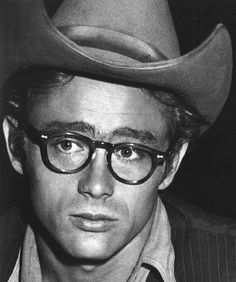 James Dean - Hat and glasses
