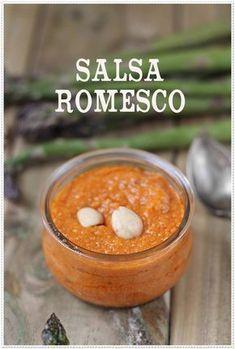 Verduras gratinadas y salsa romesco {by Paula, Con las Zarpas en la Masa}