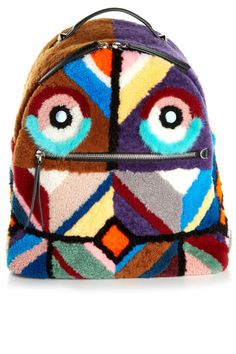 It's ok to carry a backpack long after you graduate: fuzzy Fendi