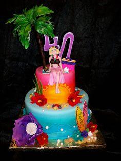 Sandra's Cakes: luau