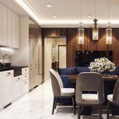 Дизайн интерьера гостиной, квартира в Челябинске