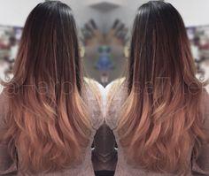 Ombré by Alyssa Tyler  Follow @HairbyAlyssaTyler on Instagram!  #hairstyles #hair #ombre #guytang #blonde #longlayers #style
