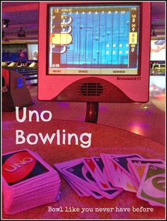 Two Best Friends In Love: Uno Bowling