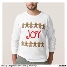 Holiday Gingerbread Cookies T-shirts -//- VIP Early Access To Black Friday Savings - Up to 65% OFF | USE CODE: ZAZBLKFRIDAY | Offer is valid through November 27, 2015 12:59PM PT.