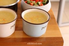 Quick corn soup - he soup is amazing, delicious, rich and creamy every spoonful is so flavorful. Corn Soup, Fondue, Soup Recipes, Pudding, Ethnic Recipes, Desserts, Soups, Corn Chowder, Tailgate Desserts