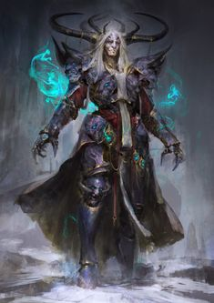 Ars Goetia – Ose – demon concept by Daniel Kamarudin
