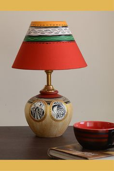 Terracotta fine pottery 8000 bc pottery practice mixed with 3000 hand painted terracotta lamp from unravelindia aloadofball Choice Image