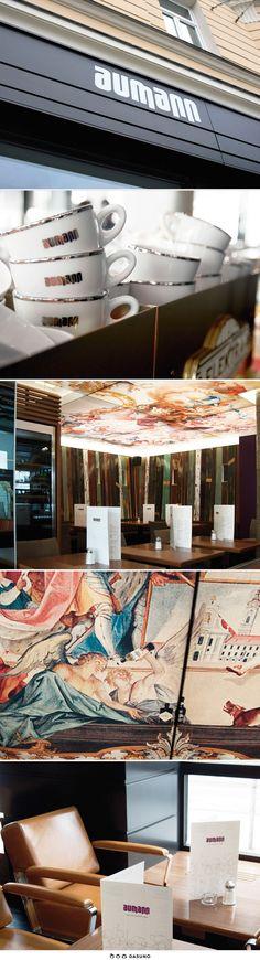 DASUNO // Client: Aumann // Corporate Design // 2011 Corporate Design, Cards, Product Design, Maps, Brand Design, Playing Cards, Branding Design