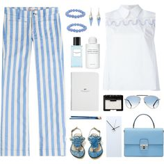 Seafarer Lord Jim Cropped Jeans by bodangela on Polyvore featuring polyvore, fashion, style, Peter Pilotto, The Seafarer, Dolce&Gabbana, Palm Beach Jewelry, Alexis Bittar, Tom Ford and NARS Cosmetics