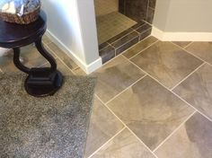 Beautiful SnapStone Porcelain Tile Floors You Can Do Yourself ...