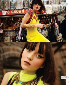 Urban Neon Fashion - The Nylon Mexico 'St. Mark's Place' Editorial Stars a Vibrant Andressa Fontana (GALLERY)