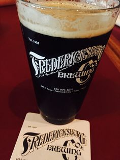 Fredericksburg Brewing Co: Pioneer Port, deliciousness in a glass!