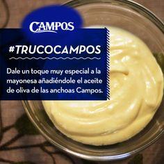 Dale un toque diferente a la #mayonesa con #anchoas Campos. #TrucoCampos