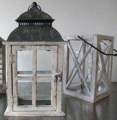 lanterns for centerpieces- if you need to supplement