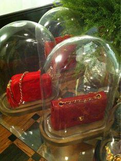 cool way to display your lovely handbags. Handbag Display, Hot Pink, Handbags, Closet Organization, Master Bedroom, Purse, Accessories, Beautiful, Vintage