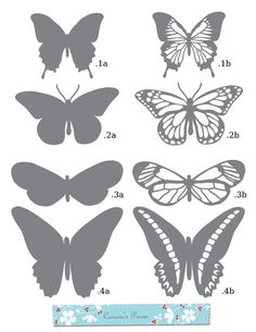 Free Butterfly SVG Files for Cricut - Bing images Kirigami, Paper Cutting, Stencils, Butterfly Template, Leaf Template, Owl Templates, Crown Template, Diy Butterfly, Butterfly Mobile