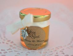 Top 10 French Wedding Favours you can find on Etsy - French Wedding Style That Way, Just For You, Types Of Honey, Wedding Favour Jars, Bee Farm, Event Themes, French Wedding, Love Is Sweet, Label Design