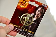 My hunger games pin!