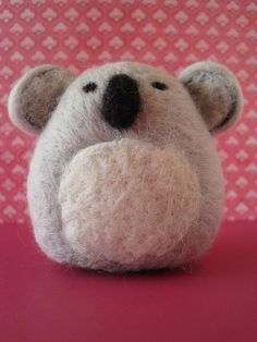 Koala by Woolnimals, via Flickr