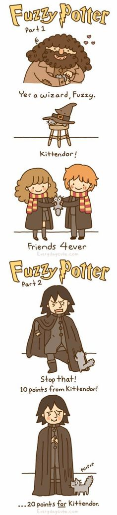 Fuzzy Potter. so cute!!