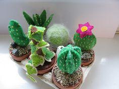 Felt Plants for busy people: Felt Cactus by OrangeZoo, via Flickr